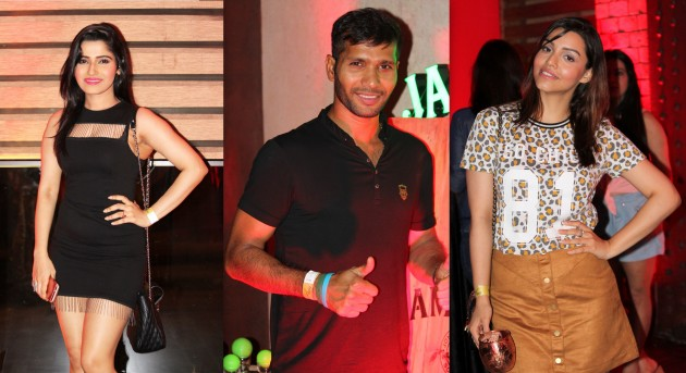 Ashok Dinda -kyra dutta and pujarini ghosh at fface party